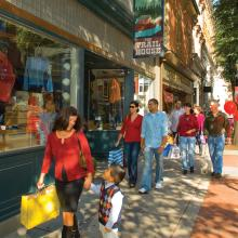 Shopping in Downtown Frederick
