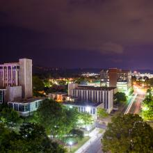 Downtown Huntsville night