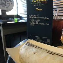 Restaurant Week: NOTO Burrito