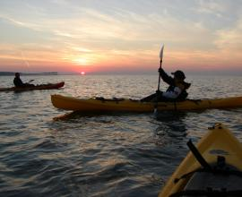 Paul Bonge -Kayaking on the Gulf