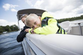 Kid in Boat