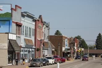 Downtown Minocqua