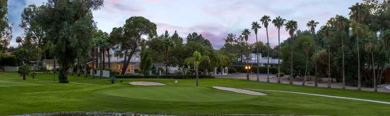 San Marcos Golf Course at Sunset