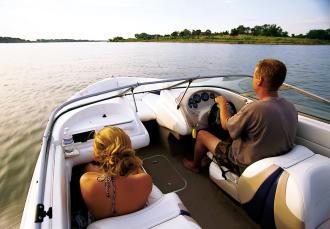 Boating Kanopolis