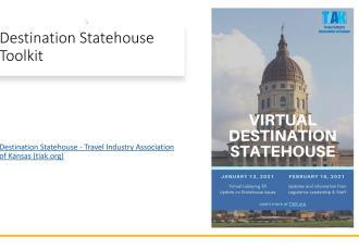 Destination State House + February Virtual Huddle