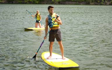 Attractions - Summer Shore - Paddleboarding