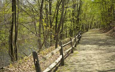 The Perkiomen Trail is one of the longest and most scenic in Montco.