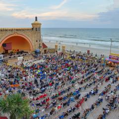 Daytona Beach and The Bandshell
