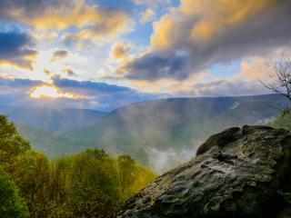 Baughman Rocks Overlook