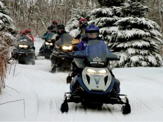 Snowmobile Tours, Seven Springs Mountain Resort