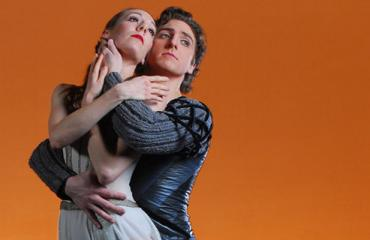 "Ballet West's Annie Breneman and Christopher Ruud in ""Hamlet and Ophelia"