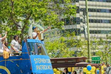 Warriors Parade 2018