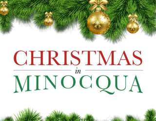 christmas in minocqua