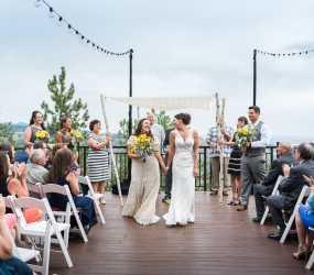 Q Rooftop Wedding In Colorado