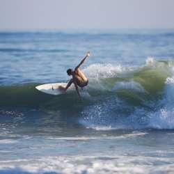 Surfing Surf City USA