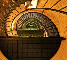 Currituck Lighthouse Stairwell