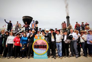 Join the 150th Anniversary Celebration of the Golden Spike