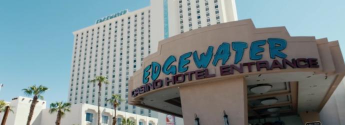 Exterior View of Edgewater Casino Resort Entrance