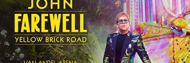"Elton John bids farewell to the road, brings ""Farewell Yellow Brick  Road Tour"" to SMG-managed Van Andel Arena® on October 15"