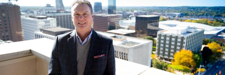 Doug Small, President & CEO of Experience Grand Rapids