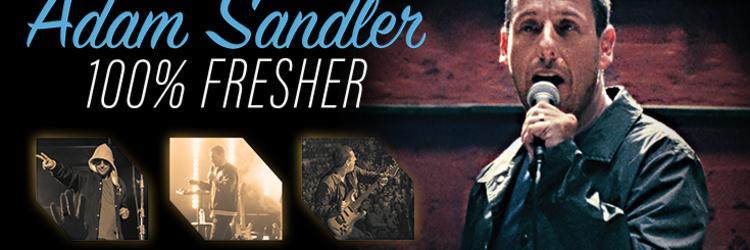 Comedic Superstar Adam Sandler Reveals 100% Fresher Tour Date at Van Andel Arena?