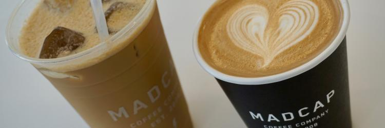 Madcap hot and iced lattes