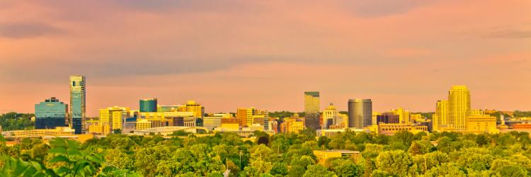 Grand Rapids Skyline - West Side