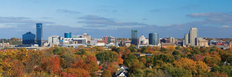 Grand Rapids Skyline - Fall