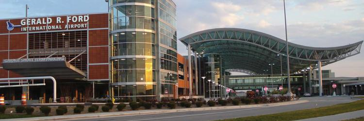 Gerald R Ford Airport in Grand Rapids