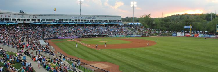 Whitecaps game at Fifth Third Ballpark