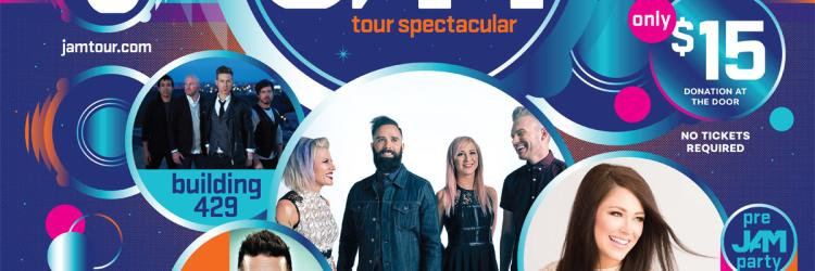 Winter Jam 2018 Rolls with Top Rockers Skillet to Grand Rapids