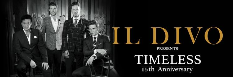 "Il Divo Announces All New North American Dates of Global ""Timeless"" Tour"