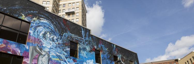 Mural in Grand Rapids