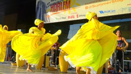 Cuban Dance Co. at summerstage Harlem