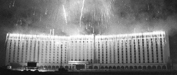 vintage photo of Las Vegas