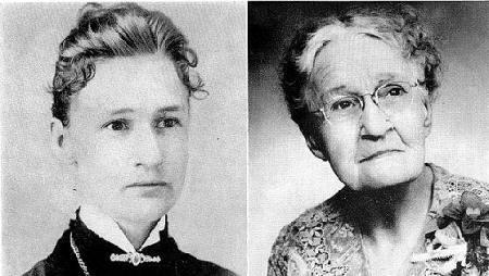 Susanna Salter, young and old, groundbreaking Kansas woman