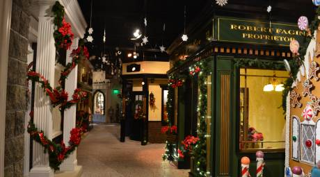 The Dickensian Main Street at Byers' Choice