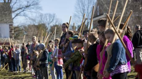 Kids Join the Continental Army at Valley Forge Park