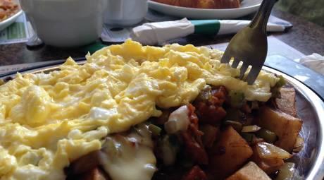 Potts & Penn Family Diner Breakfast