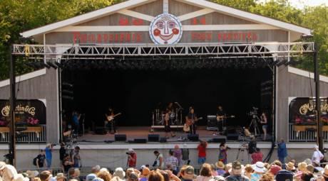 SUMMER EVENTS - PHILADELPHIA FOLK FESTIVAL
