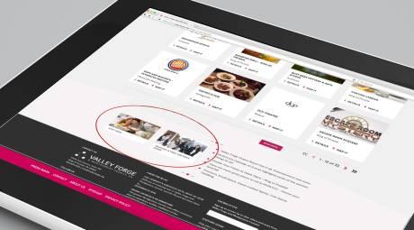 Website Section Sponsorship