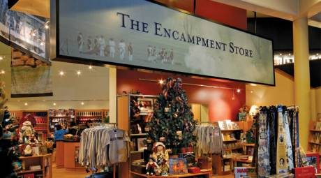 Visitor Center - Encampment Store