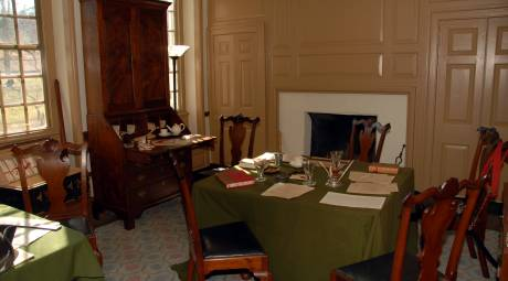 Washington's Office at Valley Forge