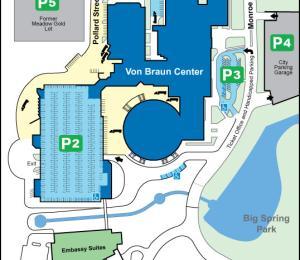 Parking - Von Braun Center