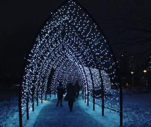 The Forks Winter Lights