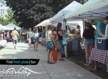 Farmers Markets in Cumberland Valley, PA