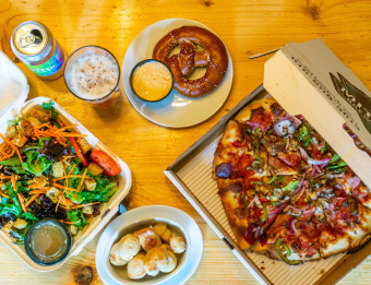 Takeout Dining with Craft Beer