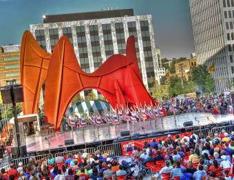 Calder Stage - Festival of the Arts