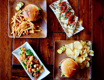 Restaurant Week Burgers and Appetizers in Grand Rapids