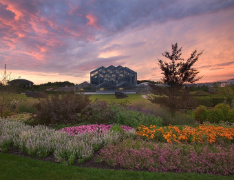 Sunset at Frederik Meijer Garden's & Sculpture Park